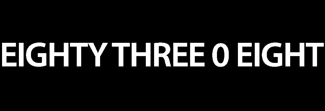 EIGHTY THREE O EIGHT SALON